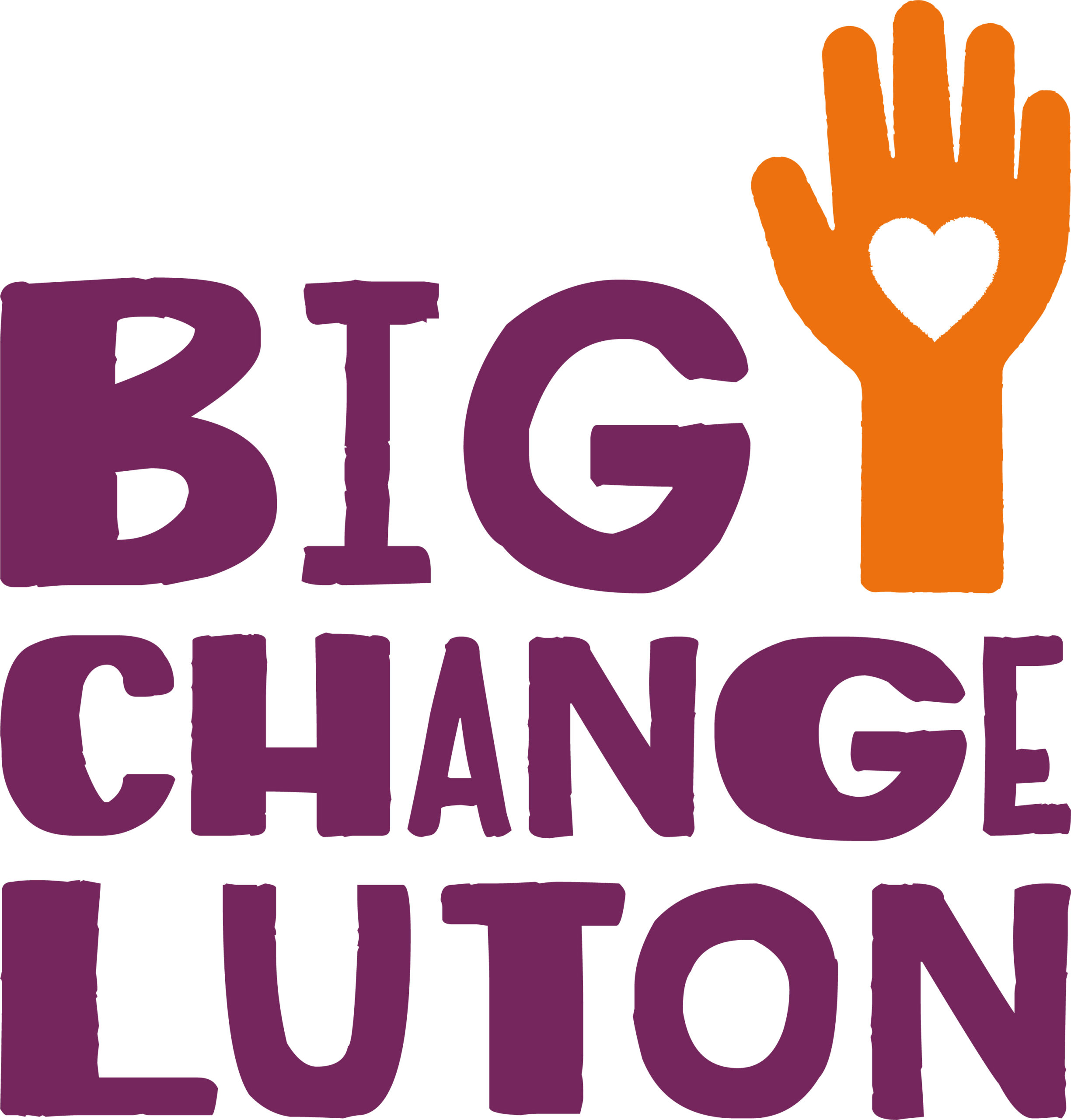 The logo of the Big Change Luton Campaign